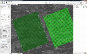 GeoStar screen capture showing two maps side by side